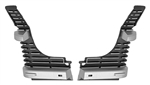 1969 Chevelle Malibu Grille Extensions, Pair