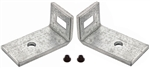1969 Chevelle Upper Grille Brackets, Pair
