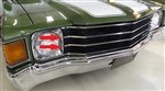 1972 Chevelle Grille Chrome Trim Molding, Center