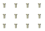 1964 - 1970 Chevelle Headlamp Retaining Ring Screws, Pack of 12