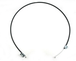 1966 - 1967 Chevelle Heater Control Cable, Without Air Conditioning, Fan Flow