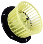 1964 - 1974 Nova Heater Fan Blower Motor with Squirrel Cage Fan, Without Air Conditioning