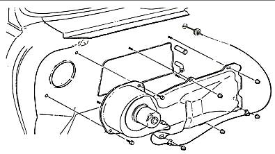 1968 - 1972 nova heater box to firewall mounting hardware set, all models  w/o ac