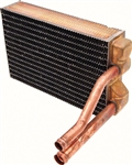 1968 - 1970 Nova Heater Core, Big Block without Air Conditioning Copper Brass