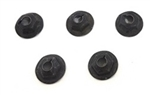 1964 - 1972 Chevelle / Nova Heater Box Firewall Cover Mounting Nuts Set, 5 Pieces