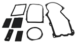 1968 - 1972 Nova Heater Box Seal Kit For Cars Without Air Conditioning