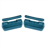 1969 - 1972 Chevelle Door Panel Arm Rests Kit, Colors