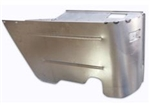 1964 - 1967 Chevelle Rear Lower Convertible Arm Rest Ashtray Metal Panel, LH Driver Side