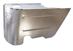 1964 - 1967 Chevelle Rear Lower Convertible Arm Rest Ashtray Metal Panel, RH Passenger Side