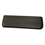1966 - 1967 Chevelle Rear Arm Rest Pad, EACH Black Molded Urethane