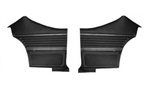 1969 Chevelle Rear Side Panels, Assembled, Coupe, Pair
