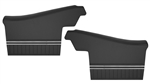 1971 - 1972 Chevelle Rear Side Panels, Assembled, Convertible, Pair