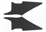 1970 - 1972 Chevelle Headliner Sail Panel Boards, Two Door Hardtop, Perforated, Pair