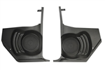 "1964 - 1966 Chevelle Kick Panels with 80 watt 6-1/2"" Coaxial Speakers for Non Factory Air Models, Pair"