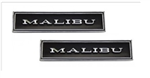 1970 - 1972 Chevelle Malibu Door Panel Emblems, Pair