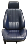 1969 Chevelle Pro Touring II Reclining Front Bucket Seat Assemblies, Procar Standard Interior Pattern, PAIR