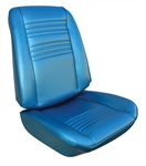 1967 Chevelle Front Bucket Seat Covers Set