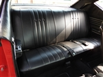 1968 Chevelle Rear Seat Covers, Hardtop Coupe