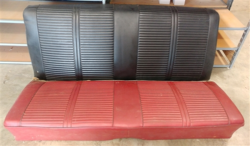 Fantastic 1964 1967 Chevelle Rear Seat 2 Door Coupe Original Gm Spiritservingveterans Wood Chair Design Ideas Spiritservingveteransorg