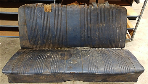 1964 - 1967 Chevelle Rear Seat, 2 Door Coupe Original GM Used