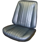 1969 Chevelle Front Bucket Seat Upholstery Covers, Pair