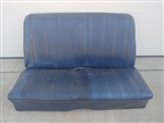 1965 - 1967 Chevelle Convertible Rear Back Seat, Original GM Used