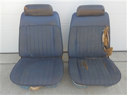 1969 - 1970 Chevelle Front Bucket Seats, Original GM Used