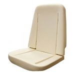 1968 - 1971 Chevy Nova Front Bucket Seat Foam, Each