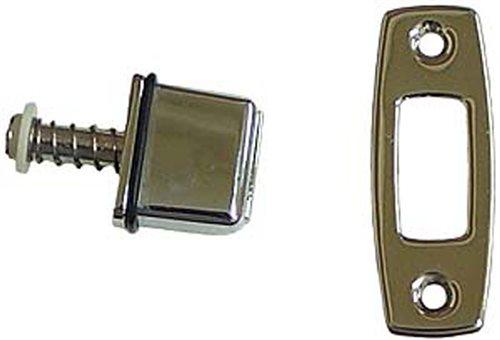 1967 - 1968 Chevelle Bucket Seat Back Lock Latch Release Button, Each
