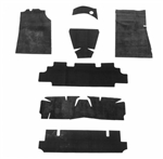 1964 - 1972 Chevelle Floor Carpet Heat and Sound Deadener Set