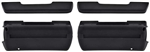 1968 - 1974 Nova Front Door Panel Arm Rest Base and Pad Set, FACTORY STYLE