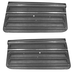 1968 Nova Door Panels Set, SS / Custom Interior Front, Pre-Assembled, Pair