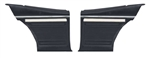 1969 Nova Rear Side Panels Set, SS / Custom Interior, Rear, Pre-Assembled, Pair