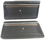 1970 - 1972 Nova Door Panels Set, SS / Custom Interior, Front, Pre-Assembled, Pair