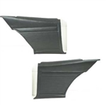 1971- 1972 Nova Rear Side Panels Set, Standard Interior, Coupe, Pre-Assembled, Pair