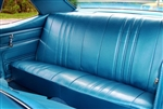 1968 Nova Back Rear Seat Cover, Super Sport or Custom