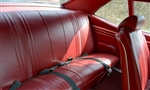 1972 Nova Back Rear Seat Cover Upholstery Set, SS or Custom Interior