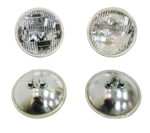 1964 - 1967 Chevelle Factory Original Style T3 Headlight Headlamp Set, 4 Piece Kit