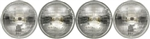 1964 - 1970 Chevelle Headlight Headlamp Halogen Complete Bulb Set