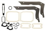 1967 Chevelle Exterior Gaskets Set, Paint and Light Lenses, 2 Door Hardtop & Convertible