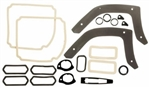 1969 Chevelle Exterior Gaskets Set, Paint and Light Lenses, 2 Door Hardtop & Convertible