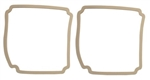 1969 Chevelle Tail Light Lens Gaskets, Pair