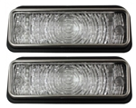 1969 Chevelle Parking Light Lamp Lens, Super Sport, Pair