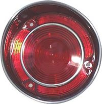 1971 Chevelle Tail lamp lens (left, Malibu & Super Sport) (with trim), Each