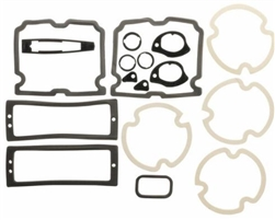 1971 - 1972 Chevelle Exterior Gaskets Set, Paint and Light Lenses, 2 Door Hardtop & Convertible