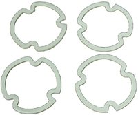 1971 - 1972 Chevelle Tail lamp lens gaskets, 4 Piece Set