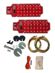 1966 Chevelle Tail Lights Kit, All Models, LED Digital Sequential
