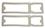 1968 - 1969 Nova Tail Light Lens Gaskets Set, Pair