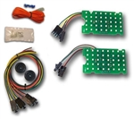 1970 - 1972 Nova Tail Lights Kit, All Models, LED Digital Sequential
