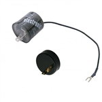 Turn Signal and 4-Way Hazard 2 Prong LED Flasher for Upgrading to LED Lighting, with Polarity Reversing Adapter